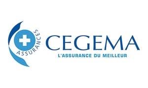 Logo Cegema compagnie d'assurance en mutuelle santé est certifié par Véritas